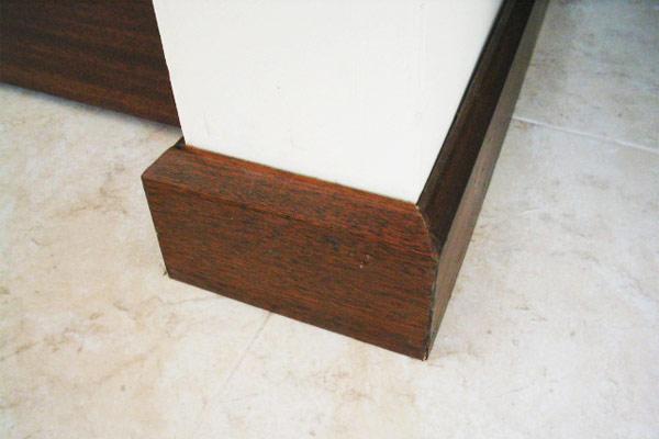 Muebles de la cruz f brica de muebles - Zocalos de madera altos ...